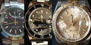 damaged Rolex worth