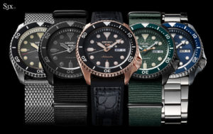 sporty Seiko watch collection