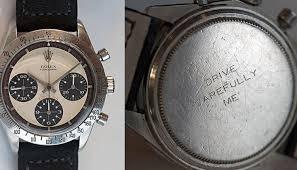 [paul newman's watch history